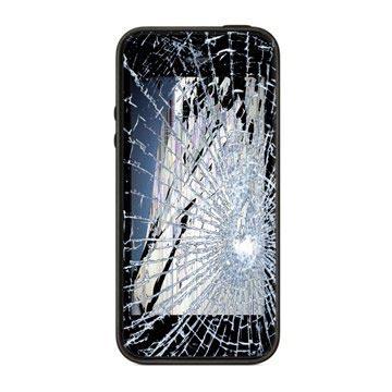 iPhone 5S LCD & Touchscreen Reparatie Zwart Grade A