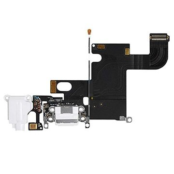 iPhone 6 Oplaad Connector Flexkabel Wit