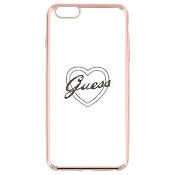 iPhone 6 Plus / 6S Plus Guess Signature TPU Case - Hart Rose Gold