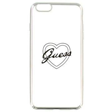 iPhone 6 Plus / 6S Plus Guess Signature TPU Case - Hart Zilver