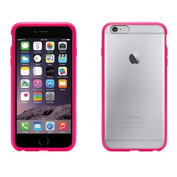Griffin Reveal Case Hot Pink-Clear voor Apple iPhone 6 Plus-6s Plus