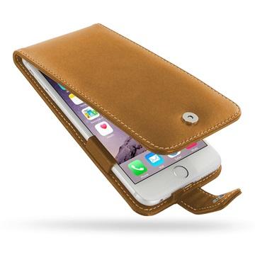 iPhone 6 Plus / 6S Plus PDair Leren Case 3TIP6PFX1 Bruin