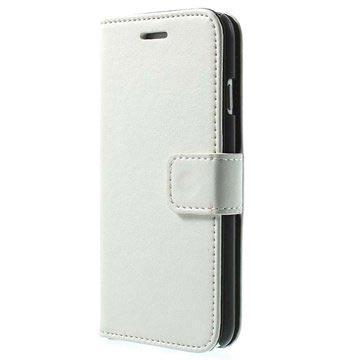 iPhone 6-6S Wallet Leren Hoesje Wit