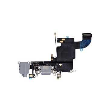 iPhone 6S Oplaad Connector Flexkabel Donkergrijs