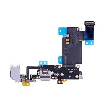 iPhone 6S Plus Oplaad Connector Flexkabel Lichtgrijs