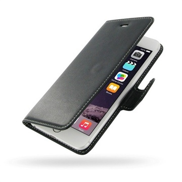 iPhone 6 Plus / 6S Plus PDair Leren Case NP3BIP6PBX1 Zwart