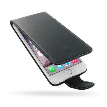 iPhone 6 Plus / 6S Plus PDair Leren Case NP3BIP6PFX1 Zwart