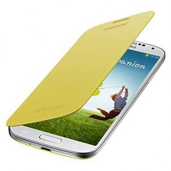 Samsung Flip Cover Yellow