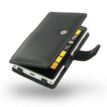 Nokia Lumia 920 PDair Leren Case 3BNKLMB41 Zwart