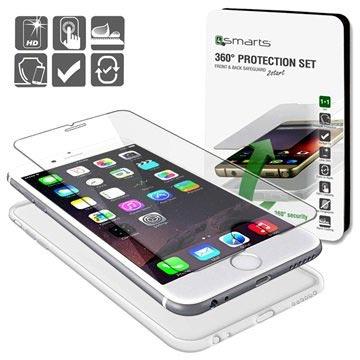 iPhone 6-6S 4smarts 360 Protection Set Doorzichtig