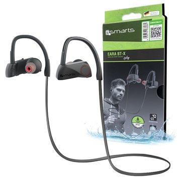 4smarts Eara BT-X Draadloze Sport Koptelefoon Zwart