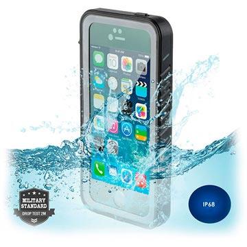 iPhone 5-5S-SE 4smarts Nautilus Waterdicht Hoesje Zwart