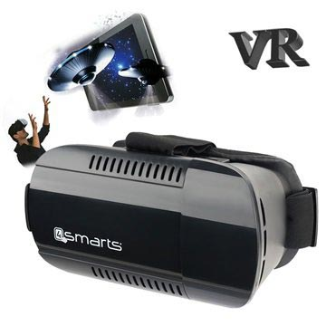 4smarts Spectator Plus Universele Virtual Reality Bril Zwart