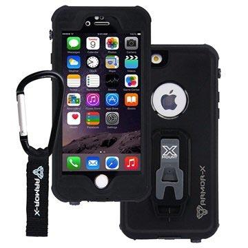 Armor-X MX-AP4S Waterdicht iPhone 6S-6 Hoesje Zwart
