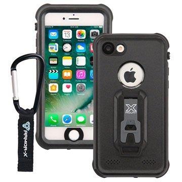 iPhone 7 Armor-X MX-AP7 Waterdicht Hoesje Zwart