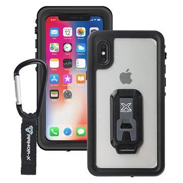 iPhone X Armor-X MX-IPHX-BK Waterdicht Hoesje Zwart