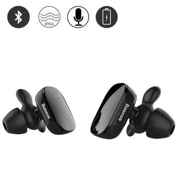 Baseus Encok W02 True Draadloze Koptelefoon Zwart