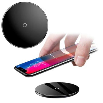 Baseus Simple Wireless Charging Pad Zwart
