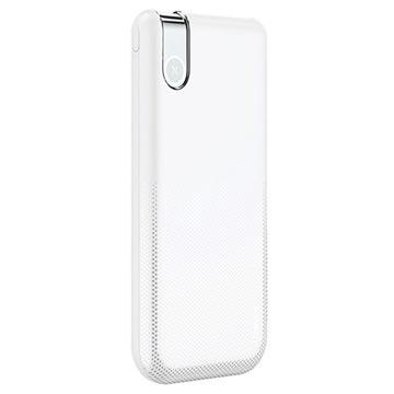 Baseus Thin Version Qi Draadloze Oplader-Powerbank 10000mAh Wit