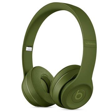 Beats by Dr. Dre Beats Solo3 Hoofdband Stereofonisch Bedraad-Draadloos Groen mobielehoofdtelefoon