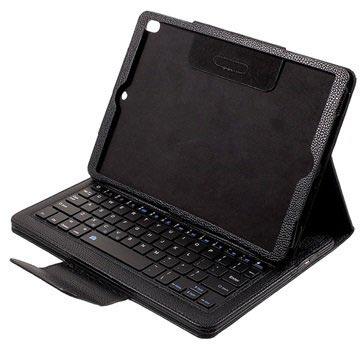 iPad Pro 10.5 Bluetooth Toetsenbord Hoesje Zwart