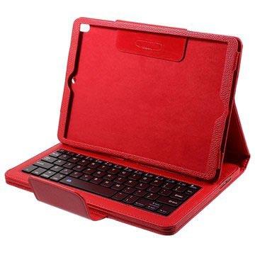 iPad Pro 10.5 Bluetooth Toetsenbord Hoesje Rood