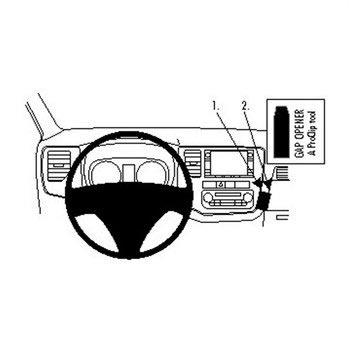Brodit ProClip Mitsubishi Outlander 13-15 Angled
