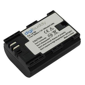Canon LP-E6 Batterij 1600mAh