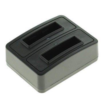 Canon NB-4L Dubbele Batterijlader Zwart