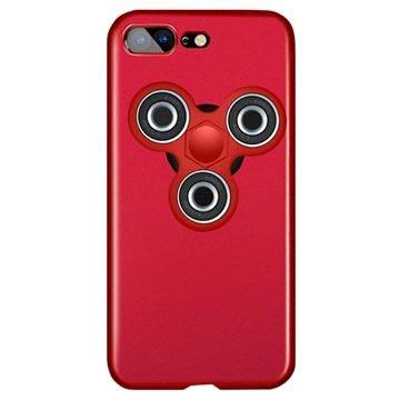 iPhone 7 Plus Cover met Fidget Spinner Rood