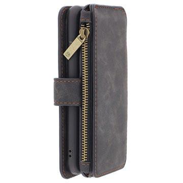 iPhone 6-6S Caseme Multifunctionele Wallet Leren Hoesje Zwart
