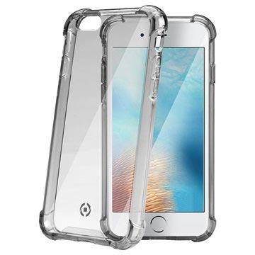 iPhone 7 Plus-iPhone 8 Plus Celly Armor Cover Zwart-Doorzichtig
