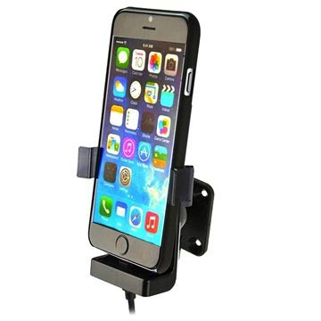 Kram 60264 Fix2Car Actieve Houder Apple iPhone 6 With Cover incl. Griffin Charger
