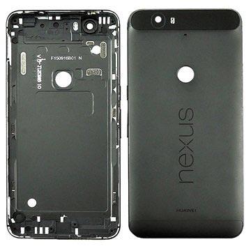 Huawei Nexus 6P Achterkant Cover Zwart
