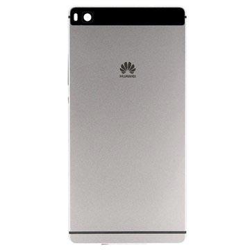 Huawei P8 Batterij Cover Titanium Grijs