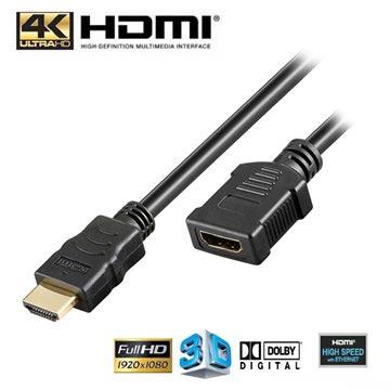High Speed HDMI Verlengkabel met ethernet 5 meter