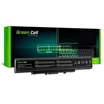 Green Cell Accu Asus P31, P41, U31, U41, X35 4400mAh