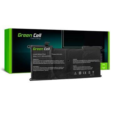 Green Cell Accu Asus ZenBook UX21, UX21A, UX21E 4800mAh