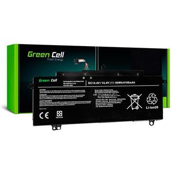 Toshiba Tecra Z40, Z50 Green Cell Accu 4100mAh