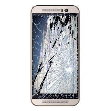 HTC One M9 LCD & Touchscreen Reparatie Goud-Zilver