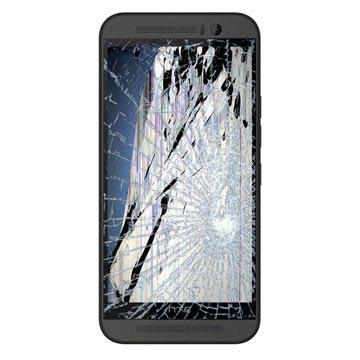 HTC One M9 LCD & Touchscreen Reparatie Grijs