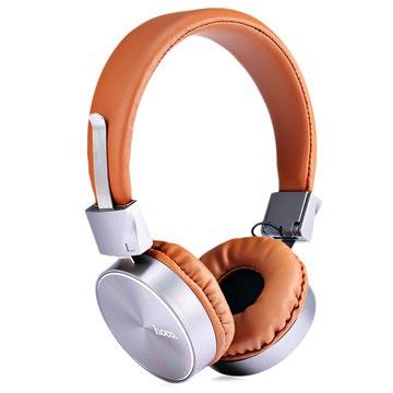 Hoco W2 Foldable Over-ear Koptelefoon 3.5mm Bruin
