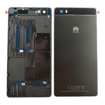 Huawei P8 Lite Batterij Cover Zwart