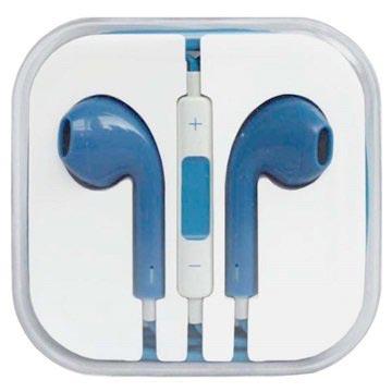 In-ear Koptelefoon iPhone, iPad, iPod Blauw