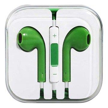 In-ear Koptelefoon iPhone, iPad, iPod Groen