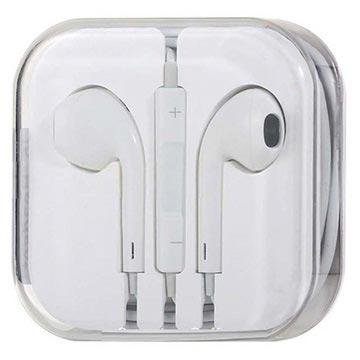 In-ear Koptelefoon iPhone 5, 5S, 5C, iPad Mini, iPod Nano 7G, iPod Touch 5 Wit