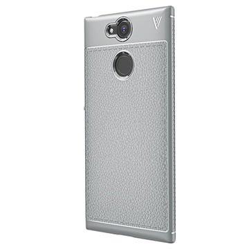 Sony Xperia XA2 Ivso Gentry Textuur TPU Case Grijs
