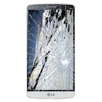 LG G3 LCD & Touchscreen Reparatie Wit