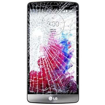 LG G3 S Displayglas Reparatie Zwart