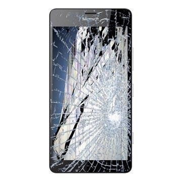 Microsoft Lumia 950 Dual SIM LCD & Touchscreen Reparatie Zwart